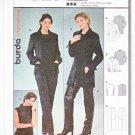 Burda Sewing Pattern 8846 Misses Sizes 10-20 Pantsuit Jacket Top Pants