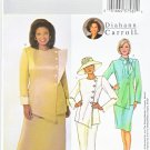 Butterick Sewing Pattern 4082 Womens Plus Size 22W-26W Side Buttoned Jacket Straight Skirt