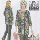 Simplicity Sewing Pattern 4746 Misses Sizes 18-26 Patty Reed Design Hobby Coat Pants Tote Bag