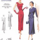 Vogue Sewing Pattern 1136 Misses Size 6-12 Vintage Original 1945 Design Dress Jacket