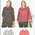 Kwik Sew Sewing Pattern 3751 Women's Plus Sizes 1X-4X (approx. 22W-32W) Button Front Jacket