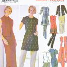 Simplicity Sewing Pattern 5589 Misses Size 8-14 Wardrobe Button Front Dress Tunic Top Pants Skirt