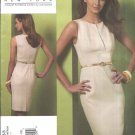Vogue Sewing Pattern 1183 Misses Size 14-20 Easy Kay Unger Sleeveless Fitted Raised Waist Dress