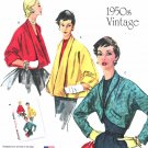 Simplicity Sewing Pattern 1319 Misses Sizes 6-14 Vintage Style Jiffy Swing Jackets Bolero