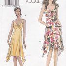 Vogue Sewing Pattern 8066 Misses Size 6-8-10-12 Easy Summer Sun Dress