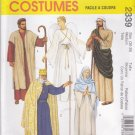 "McCall's Sewing Pattern 2339 Misses Mens Chest 30 1/2 - 31 1/2"" Nativity Angel King Mary Costumes"