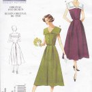 Vogue Sewing Pattern 1171 Misses Size 8-14 Vintage 1950 Design Sleeveless Button Front Dress