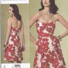 Vogue Sewing Pattern 1174 Misses Size 4-10 Cynthia Steffe Lined Strapless A-Line Dress