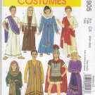 McCall's Sewing Pattern 5905 M5905 Girls Boys Size 3-6 Biblical Costumes Christmas Easter Passion