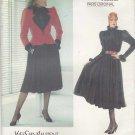 Vogue Sewing Pattern 1196 Misses Size 10 Yves Saint Laurent Paris Original jacket Skirt Blouse