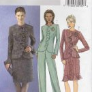 Butterick Sewing Pattern 4618 Misses Size 8-10-12-14 Easy Lined Jacket Skirt Pants Suit Pantsuit