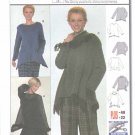 Burda Sewing Pattern 8710 Misses Sizes 8/10-20/22 Easy Pullover Top Tunic