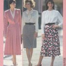 Butterick Sewing Pattern 4293 Misses Size 12-14-16 Easy Straight Flared Skirts
