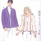 Kwik Sew Sewing Pattern 3379 M3379 Misses Sizes XS-XL (approx 8-22) Long Sleeve Knit Cardigan