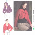 Kwik Sew Sewing Pattern 3459 Misses Sizes XS-XL (approx 6-22) Bolero Jacket Hood Option