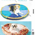 Kwik Sew Sewing Pattern 4020 K4020 Dog Cat Pet Bed Two Sizes