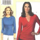 Vogue Sewing Pattern 8151 V8151 Women's Plus Size 24W-32W GHIJ Easy Sandra Betzina Pullover Knit Top