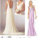 Vogue Sewing Pattern 2965 Bridal Original Misses Size 4-8 Wedding Dress Bridal Gown Formal