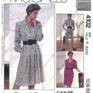 McCall's Sewing Pattern 4102 P955 Misses Size 6-10 Easy Dress Jumpsuit