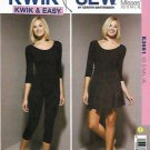 Kwik Sew Sewing Pattern 3661 Misses Sizes XS-XL (approx 8-22) Leotard Leggings Skirt Dance