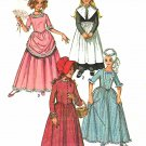 Simplicity Sewing Pattern 9136 Girls Size 14 Costumes Puritan Prairie 18th 19th Century Dresses