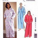 Kwik Sew Sewing Pattern 3209 Misses Sizes XS-XL (approx 8-22) Zipper Front Bathrobe Optional Hood