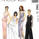 McCall's Sewing Pattern 7952 Misses Sizes 6-10 Formal Long Straight Skirt Pants Vest