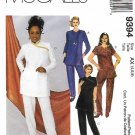 McCall's Sewing Pattern 9394 Misses Sizes 4-8 Cheongsam Style Tunic Top Pants