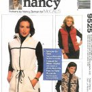 McCall's Sewing Pattern 9525 Misses Sizes 8-22 Easy Nancy Zieman Unlined Vests