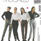 McCall's Sewing Pattern 9592 Misses Sizes 8-12 Fly Front Pants