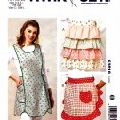 Kwik Sew Sewing Pattern 3518 Misses Sizes S-L  Half Full Aprons Ruffles Rick Rack