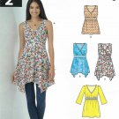 New Look Sewing Pattern 6345 A6345 Misses Size 10-22 Easy Summer Raised Waist Pullover Tops