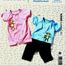 Kwik Sew Sewing Pattern 3982 Baby Sizes S-XXL Tops Pants Romper