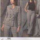 Vogue Sewing Pattern 2830 Misses Size 8-10-12 Anne Klein Pantsuit Jacket Pants