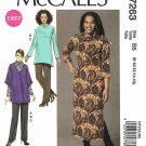McCall's Sewing Pattern 7263 Womens Plus Sizes 18W-24W Easy Knit Cardigan Tunic Dress Pants