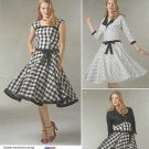 Simplicity Sewing Pattern 1061 Misses Size 4-12 Sleeveless Dress Lined Jacket Bolero.