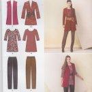 Simplicity Sewing Pattern 1593 Misses Size 10-18 Knit Wardrobe Pants Tunic Jacket Vest Belt
