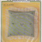 "Candlewick Pillow Kit CW11 Willow Green 14"" x 14"" Easy Opened Kit"