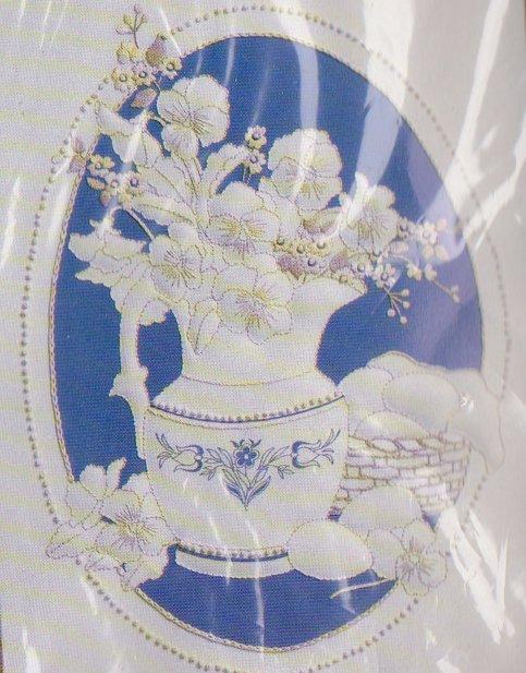 Creative Circle Kit # 0843 Still Life Trapunto Bob Shafor Candlewicking Embroidery
