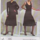 Vogue Sewing Pattern 2867 Misses Size 6-8-10 Easy Donna Karan Knit Shrug Top Skirt