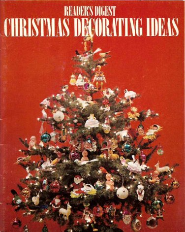 Reader 39 S Digest Christmas Decorating Ideas Booklet Ornaments Stockings Wreaths