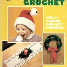 Christmas Crochet Vol. 2 Bazaar and Gift Projects #7381 Boye Needlework Library