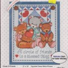 Circle of Friends Bucilla Counted Cross Stitch Kit 33523 Opened but NOT Worked