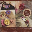 "Bucilla Felt Creations 85085 Rose & Pansy Decorative 1"" - 3"" 18 Flowers Kit  Embellishing NEW"
