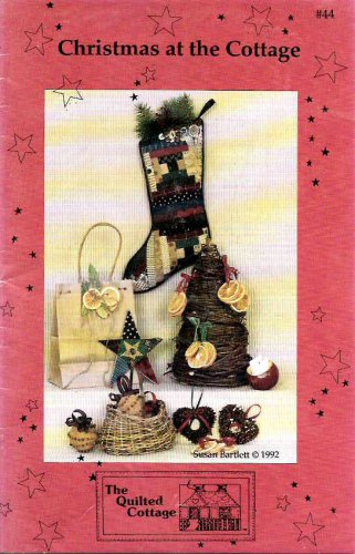 The Quilted Cottage Pattern #44 Christmas at the Cottage Stocking Placemat Tea Cozy