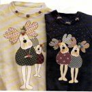 Keeping You In Stitches Sewing Pattern The Mooseketeers KS-155 Moose Applique Quilt