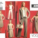 Vogue Sewing Pattern 2976 Misses Size 16-22 Easy ADRI Wardrobe Jacket Top Dress Skirt Pants