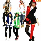Simplicity Sewing Pattern W0107 0107 8194 Misses Men's One Size Cosplay Hooded Scarves Costumes