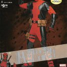 "Simplicity Sewing Pattern W0743 0743 8236 Men's Chest Size 30-48"" Marvel Comics Deadpool Costume"