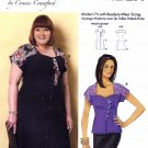 Butterick Sewing Pattern 6395 Misses Size 3-16 Connie Crawford Front Button Dress Blouse